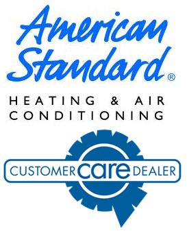 American-standard and Customer Care Logos